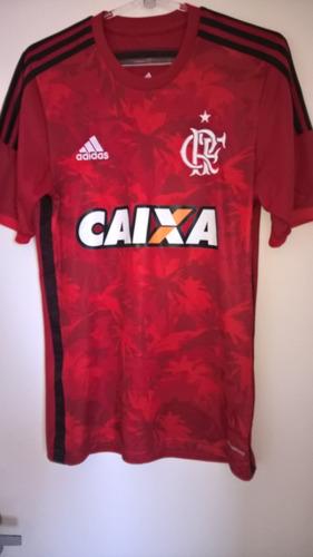 64b5058fc1 Camisa Flamengo adidas Flamengueira Original   Tamanho P - R  94
