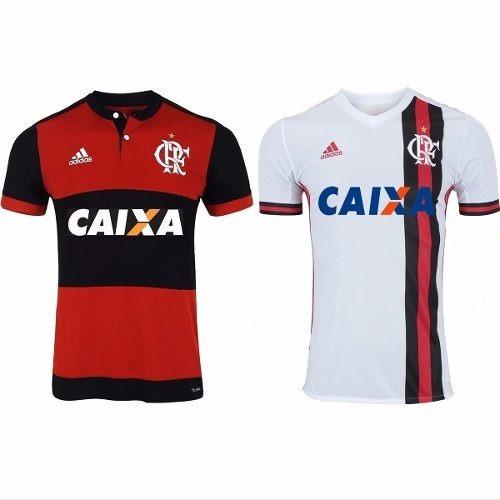 Camisetas Flamengo Kit C  2 Blusas Mengão Original Masculino - R  154 5d6dde15369be