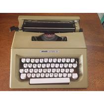 Máquina De Datilografia Olivetti (modelo Lettera 25)