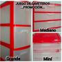 Gaveteros Plasticos Organizadores Multiuso 3 Gavetas Nuevos.
