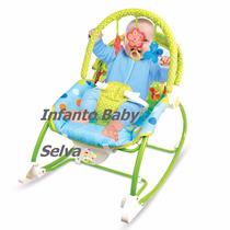 Cadeira Cadeirinha Bebê Musical Vibratória Balanço Babystyle