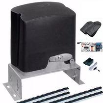 Kit Motor Portão Automático Deslizante Ppa 1/4hp + Suporte