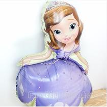 Globos Gigante Metalizado Princesa Sophia Cumpleaños Niña