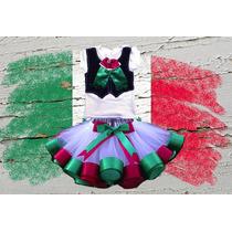 Disfraz Tutu Vestido 15 De Septiembre Fiestas Patrias Frida