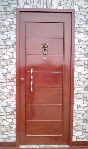 Puertas de fierro imitacion madera s 990 00 en mercado for Modelos de puertas de madera para frente
