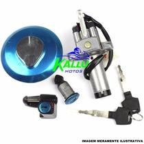 Conjunto Kit Chave De Ignição Cg 150 Até 2008 Magnetrom Moto