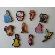 Souvenirs Fibrofacil Apliques Personajes Disney X 25 U.