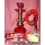 Arguile + Regalos ( Tabaco+carbón+pinza) Solo A $ 350!!! Ia