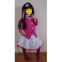 Disfraz Draculaura Monster High Niña Envío Gratis