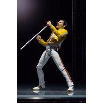 Freddie Mercury Live At Wembley Stadium Sh Figuarts
