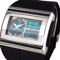 Relogio Masculino Pulso Ohsen Watch Digital Led Analógico