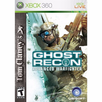 Xbox 360 - Ghost Recon Advanced Warfighter - Míd Fís - Semi