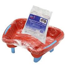 Protetor Para Bacia De Pedicure Descartável - 04 X Pct 50un