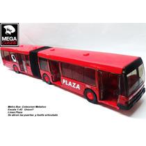 Bus Metrobus Omnibus Coleccion Metalico Esc1:43 Maisto