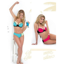 Nueva Malla Bikini Yamiel Soft Talle Grande 90al120 Vedetina