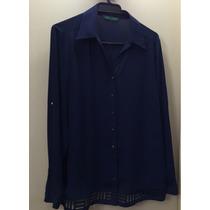 Bluza Azul Talla 42 Ma Griffe, Una Postura.