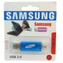 Pendrive Samsung 8gb Otg Doble Entrada Pc Celular Tabla