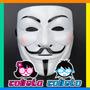 Mascara Anonymus V De Venganza V De Vendetta Pvc Plastico