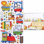 Vinil Sticker Decorativo..trencito Habitacion Niños
