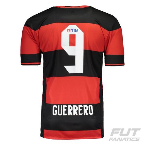 Camisa adidas Flamengo I 2016 9 Guerrero - Futfanatics - R  199 b3c4e5fbcfbce