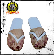 Disfraz De Zombie, Pantunflas De Zombie Para Mujer