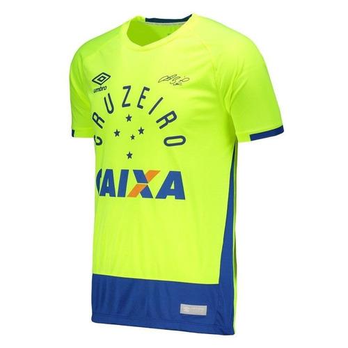 Camisa Goleiro Cruzeiro Oficial 2016 N1 - Fábio 30% Off - R  167 a46dfaa26c881