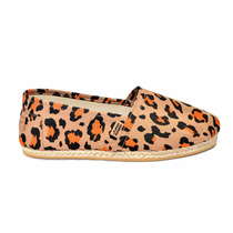 Alpargata Yute Leopardo Naranja , Chimmy Churry