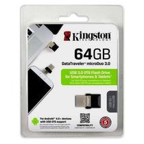 Pen Drive 3.0 64gb Micro Usb Kingston Dt Micro Duo
