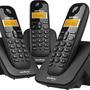 Intelbras Telefone S/fio Ts3113 Preto Base+2ramais Dect 6.0