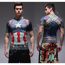 Under Armour Alter Ego Marvel Dc Capitan America , Superman