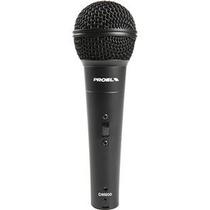 Proel Microfono Vocal Dinamico Alta Frecuencia Modelo Dm800