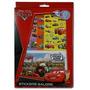 Disney Cars Sticker Album Con 6 Planchas De Calcomanías