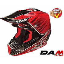 Casco Cross Cuatrimoto Fly Racing F2 Carbon Helmet Xx-large