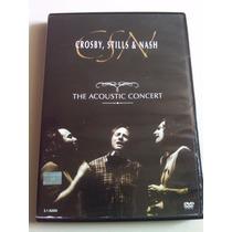 Crosby, Stills & Nash The Acoustic Concert Dvd Usado Imp Us
