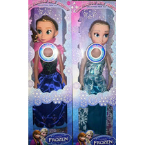 Boneca Frozen Musical 30 Cm Anna Ou Elsa