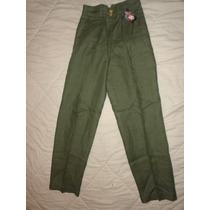 Pantalon De Lino Para Damas Talla 10