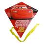 Pipa Papagaio Plástica Com Linha Carros Disney Raia Vermelha