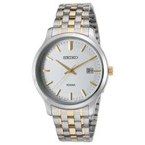 Reloj Seiko Sur147p1 Es Neo Classic Two-tone Stainless
