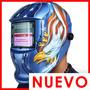 Careta Electrónica Máscara O Casco Para Soldar Automatico