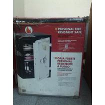 Caja Fuerte Blindada Resistente Al Fuego Combinación + Llave