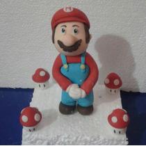 Figura De Mario Bros. Cumpleaños