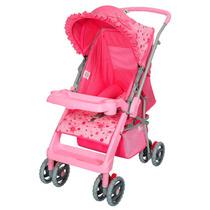 Carrinho De Bebe Tutti Baby Thor - Rosa Laco