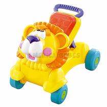 Andador Bebe Caminador 2 En 1 Leon Zippy Toy