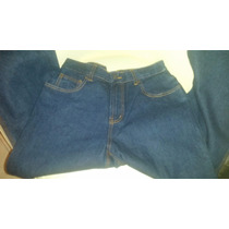 Pantalon Jeans Industrial De Seguridad, Tres Costuras, 14oz