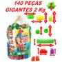 Bolsa Super Blocks C/ 140 Pçs. Grandes - Blocos De Montar