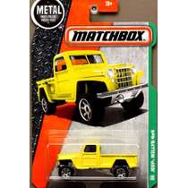 Mc Mad Car Jeep Willys 4x4 Matchbox Mbx Auto Camioneta 1/64