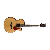 Guitarra Cort Electroacústica L100f Natural C/funda Fishman