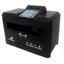 Impressora De Cheque Bematech Dp20 - Preta + Nota Fiscal