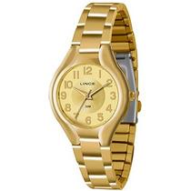 Relógio Lince Feminino (orient)lrgl007l C2kx - Dourado