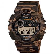 Relógio Casio Gd-120cm-5dr G-shock Camuflado - Refinado
